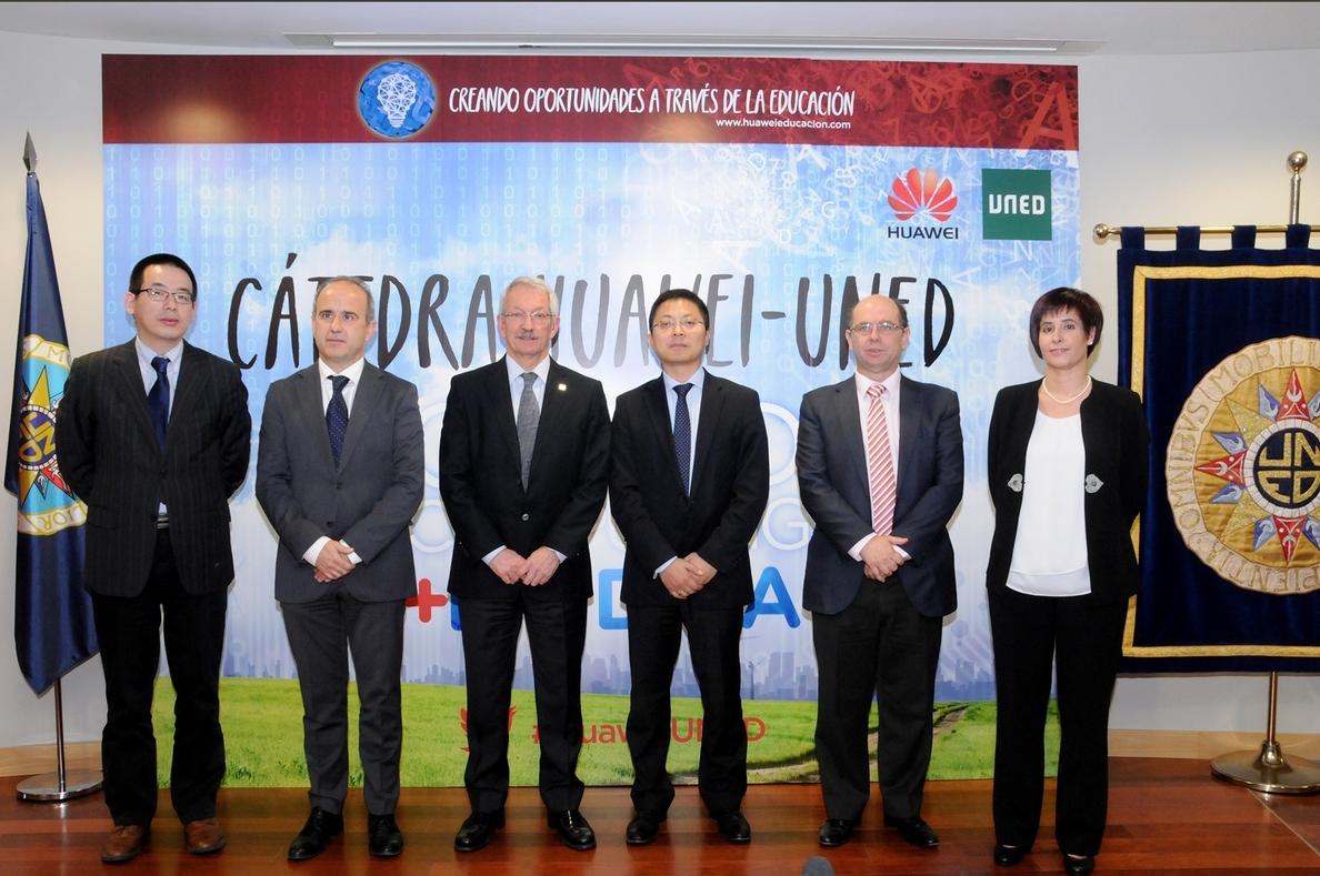 Huawei y UNED presentan la »Cátedra Cloud Computing y Big Data» para impulsar la formación en tecnologías de vanguardia