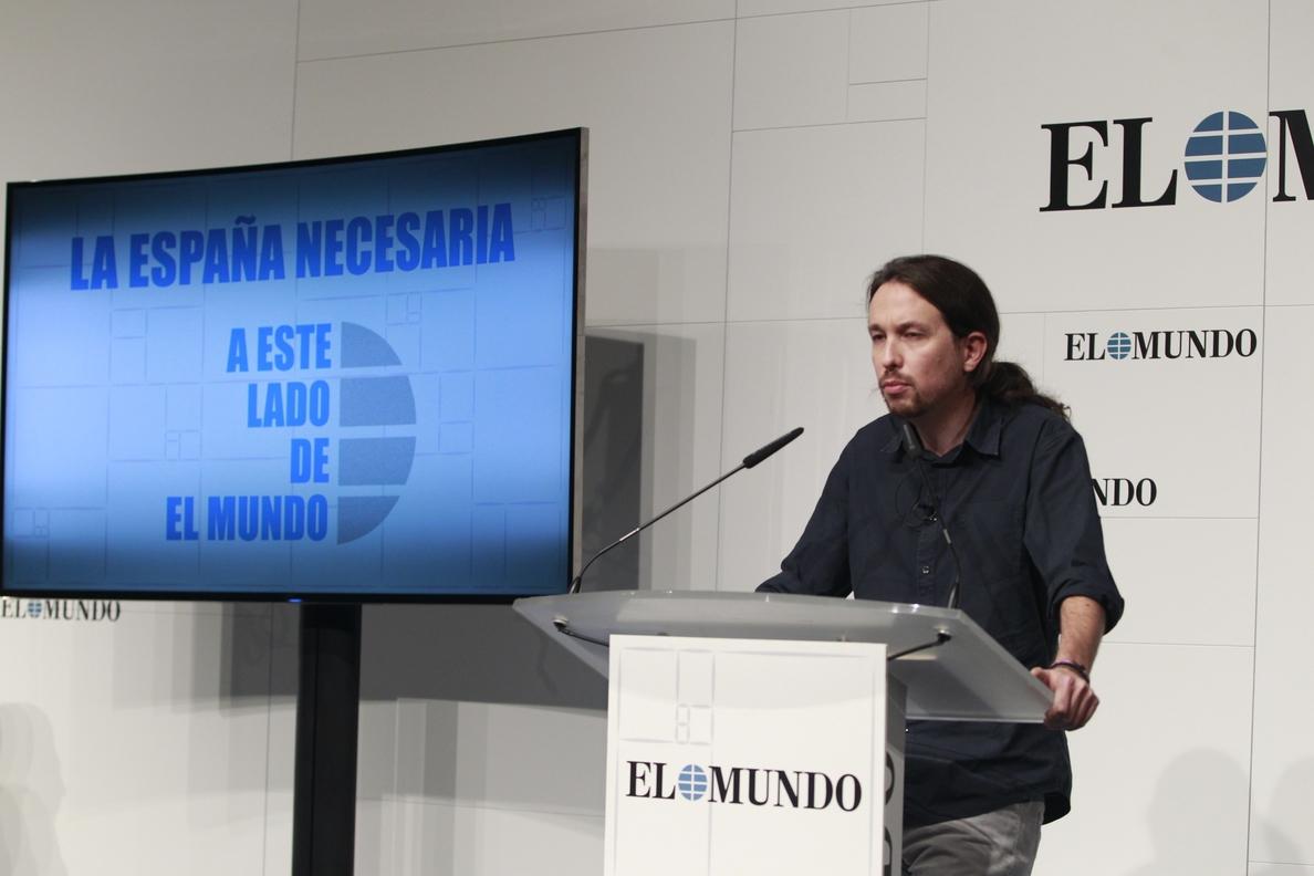 Iglesias critica la «decrepitud moral» de Felipe González y le pide que sea «más respetuoso» con lo que representa