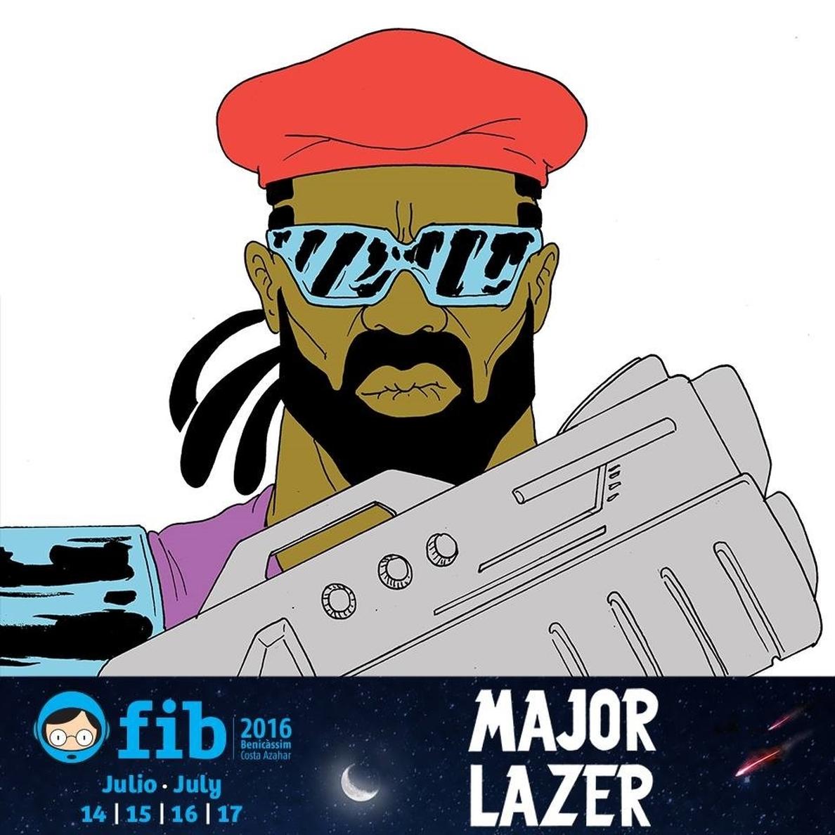 Major Lazer, primer cabeza de cartel para el Fib 2016