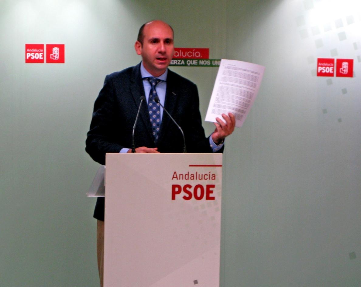 PSOE insiste en que García Urbano publique su declaración de bienes y le pregunta «qué tiene que ocultar»