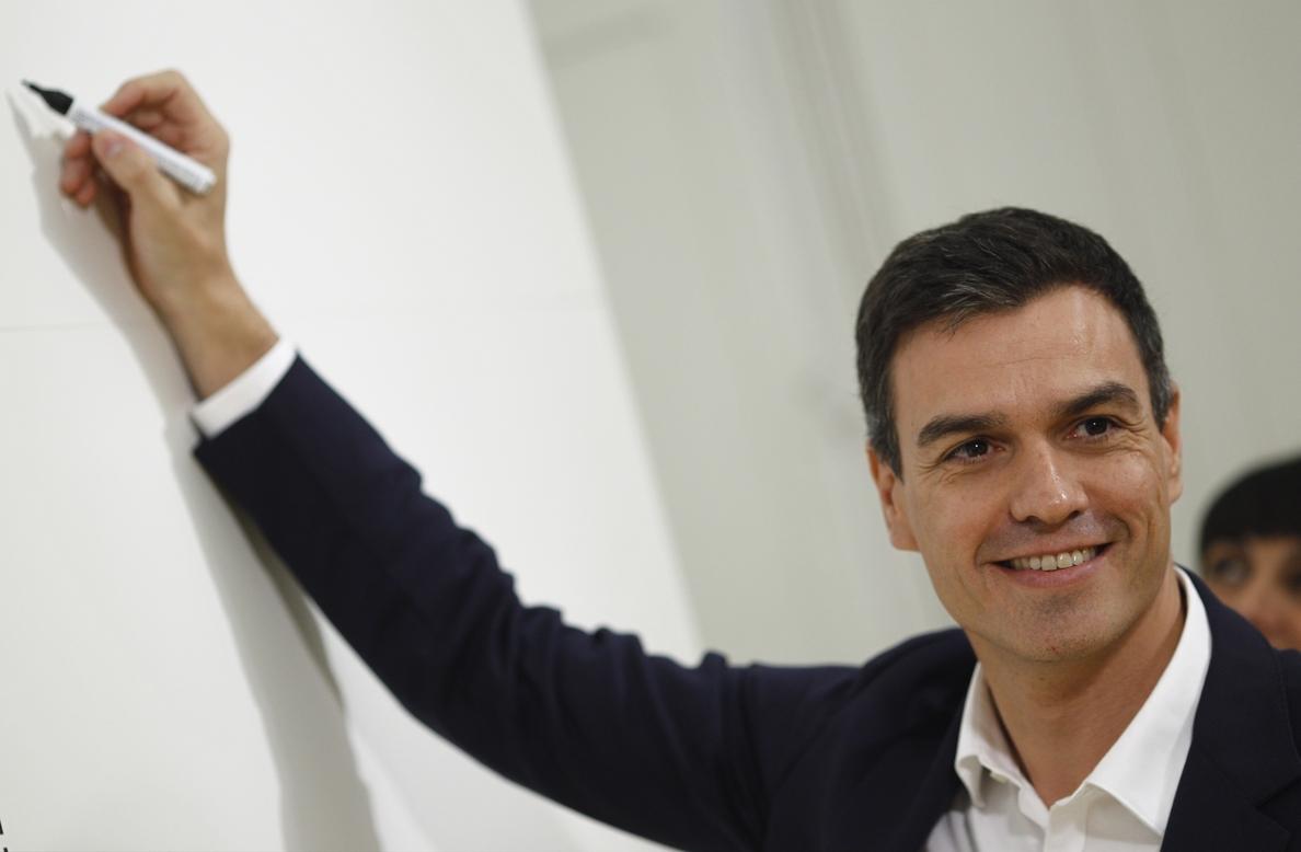 Pedro Sánchez, invitado de mañana de »En la tuya o en la mía», programa de Bertín Osborne en TVE