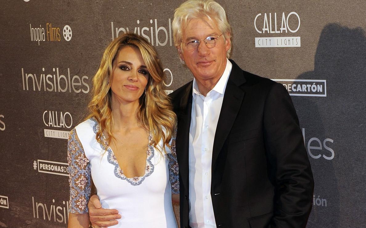 Richard Gere y Alejandra Silva juntos en la premiere de »Invisibles»
