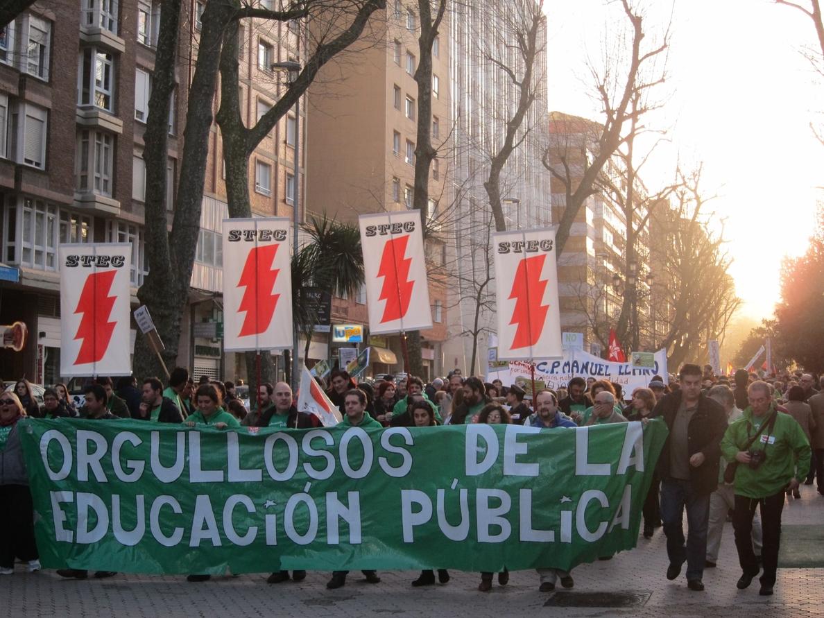 Ruiz dice que el Gobierno está «radicalmente en contra» de la LOMCE y quiere que «desaparezca»