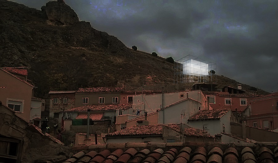 Este martes arranca en el barrio de San Antón de Cuenca el montaje del proyecto del arquitecto Maximiliam Nowotka