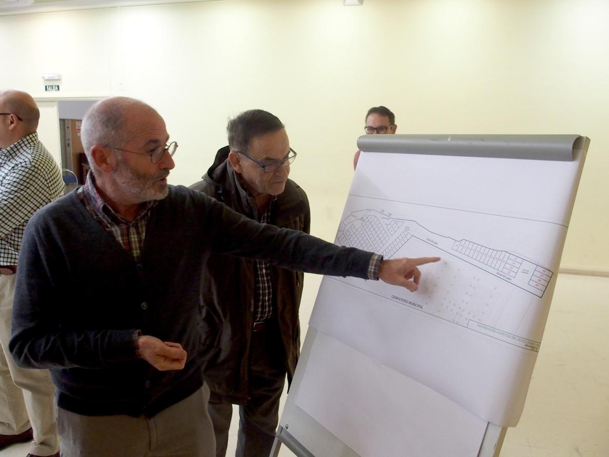 Sorteadas las 89 parcelas de la primera fase de los huertos de ocio del Campillo