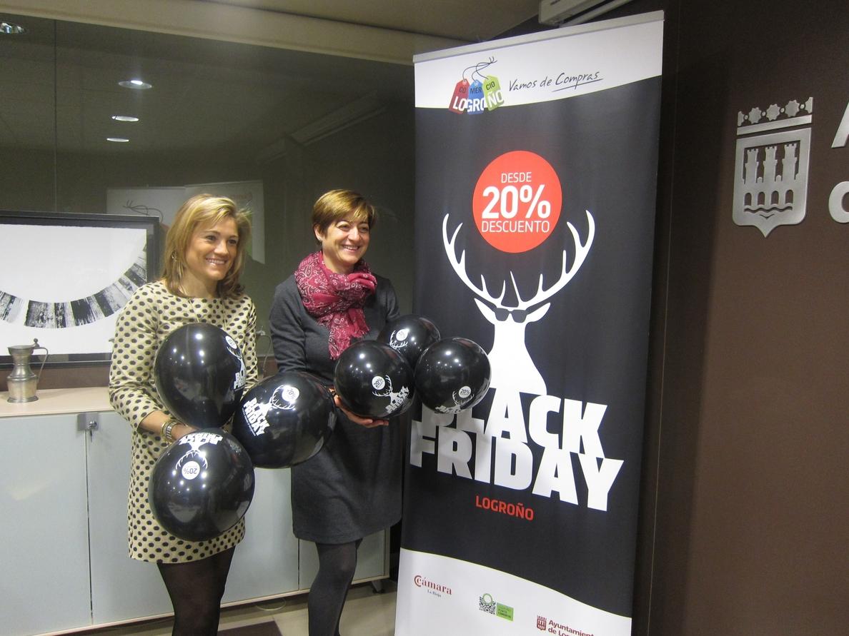 383 comercios, 28 más que el año pasado, participan en el quinto »Black Friday» de Logroño