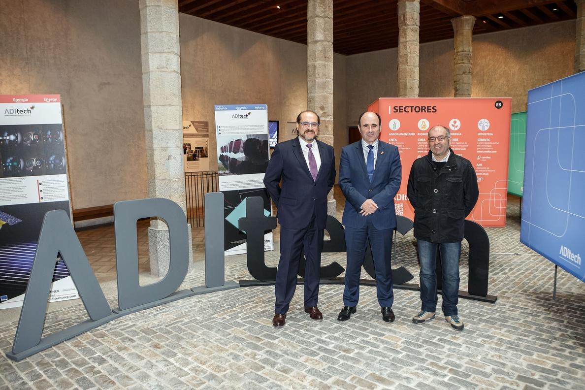 Una exposición da a conocer las investigaciones sobre la luz en los centros tecnológicos de Navarra