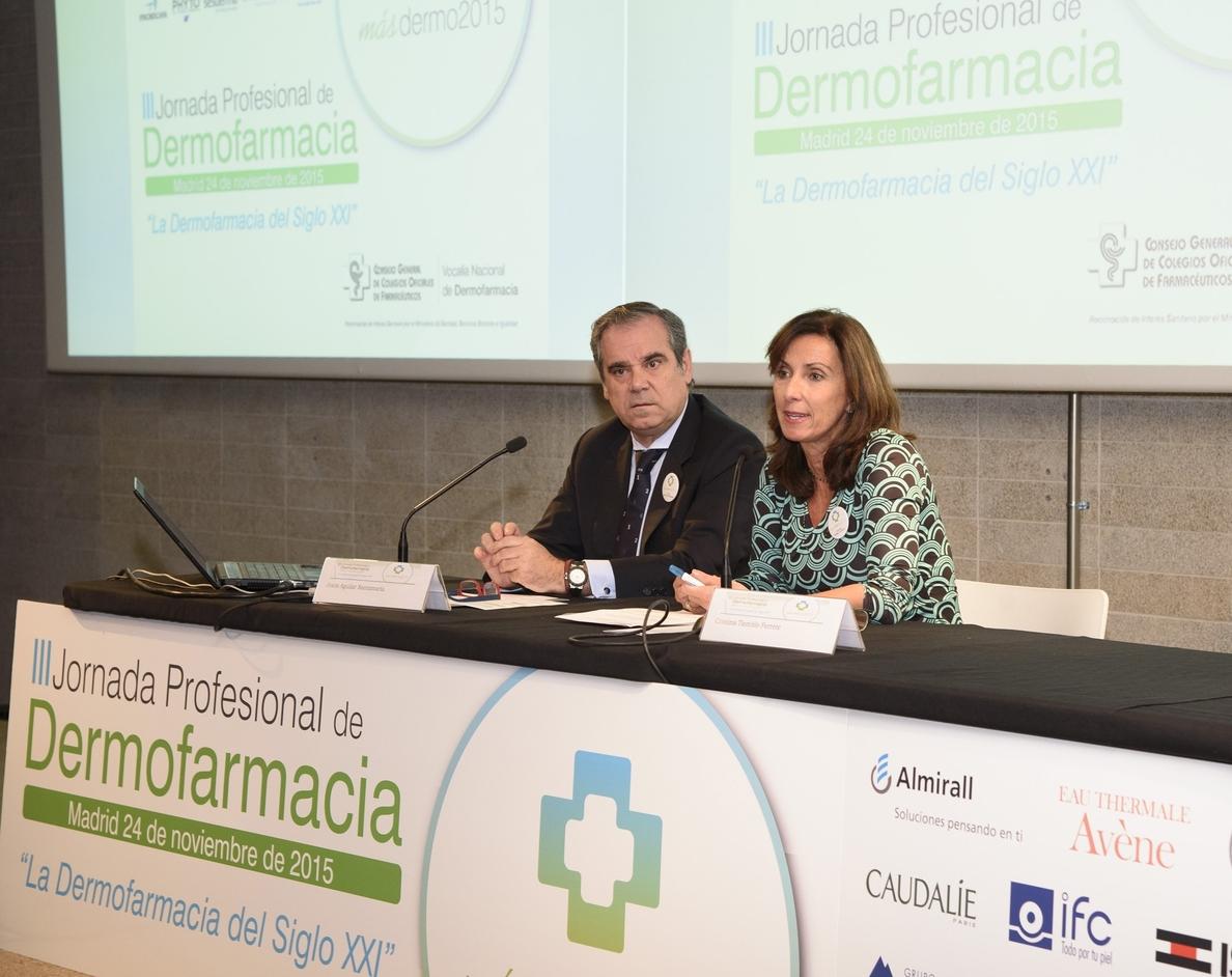 La formación del farmacéutico comunitario en Dermofarmacia y el consejo sanitario son esenciales