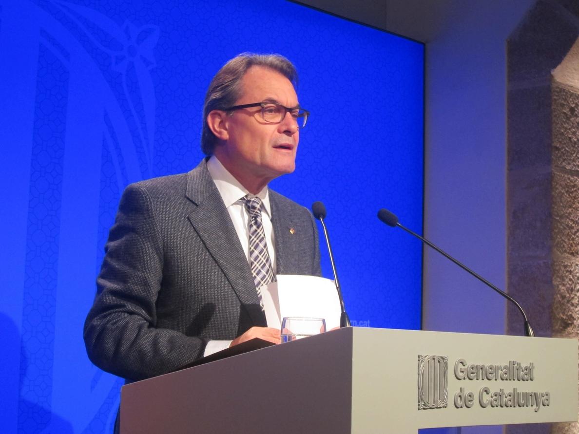 Mas recurrirá la «agresión sin precedentes» de las condiciones del FLA a Cataluña