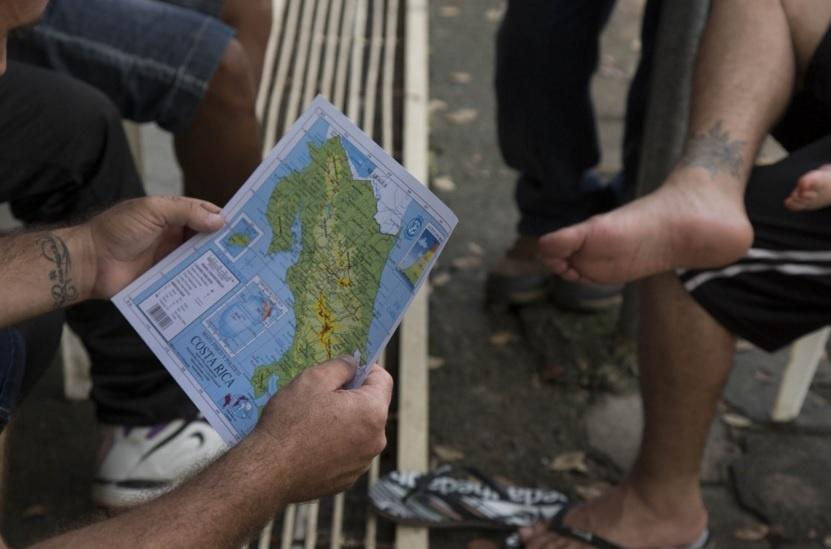 Acaban sin acuerdo las reuniones por el conflicto por los cubanos atrapados en la frontera de Costa Rica