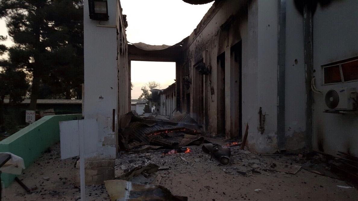 EEUU apunta a una cadena de errores en el bombardeo del hospital de MSF en Kunduz