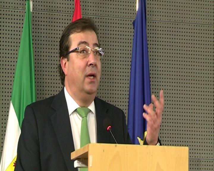 Fernández Vara sostiene que Extremadura es una región «apetecible» para las inversiones europeas