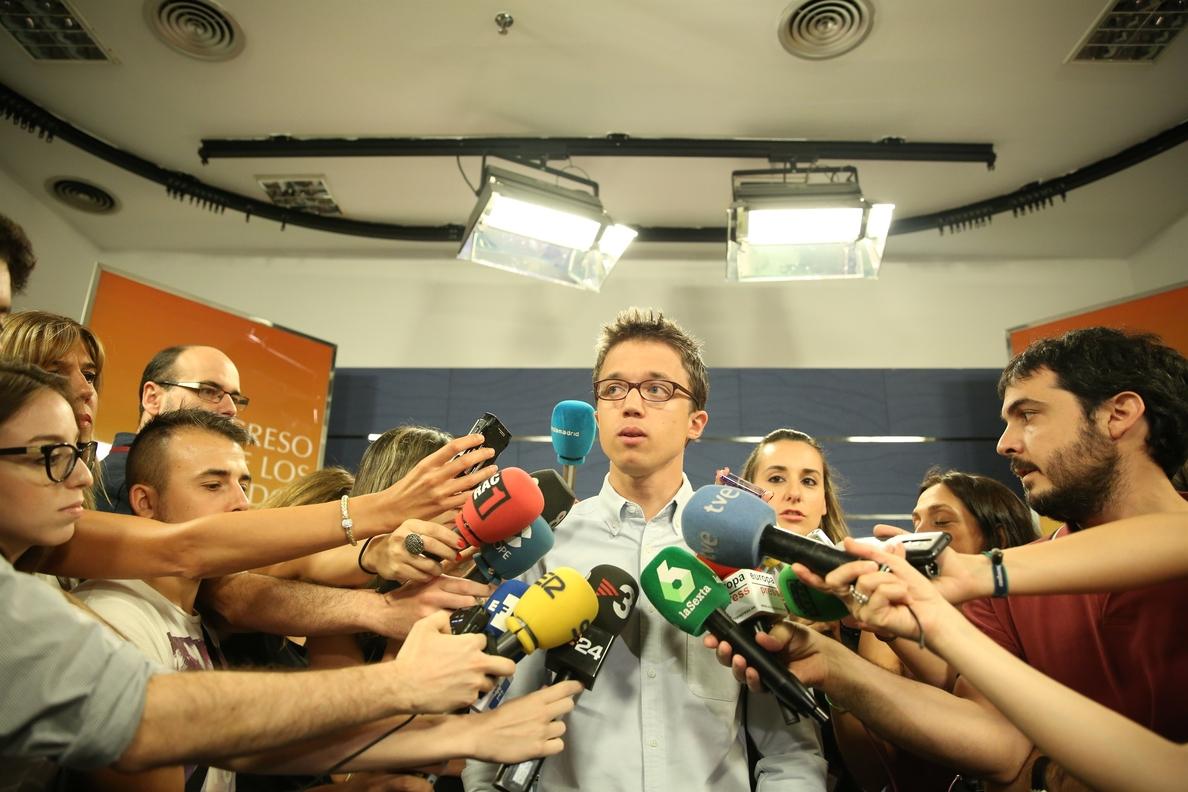 Podemos respalda la propuesta del PSOE para actualizar las pensiones y el sueldo de los funcionarios