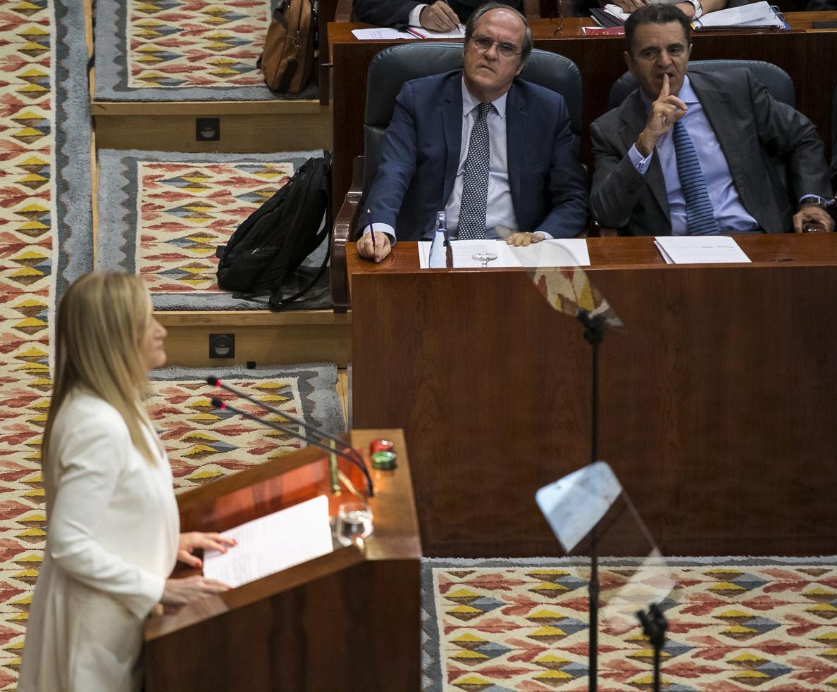 Arranca el primer debate del estado de la región de Cifuentes como presidenta