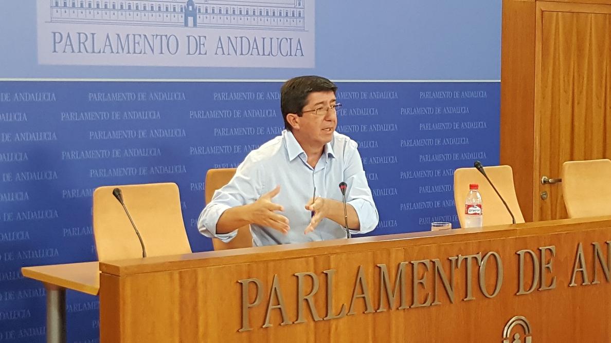 Marín (C»s) insiste que no pueden llegar a acuerdos con Podemos porque tienen modelos «muy antagónicos»