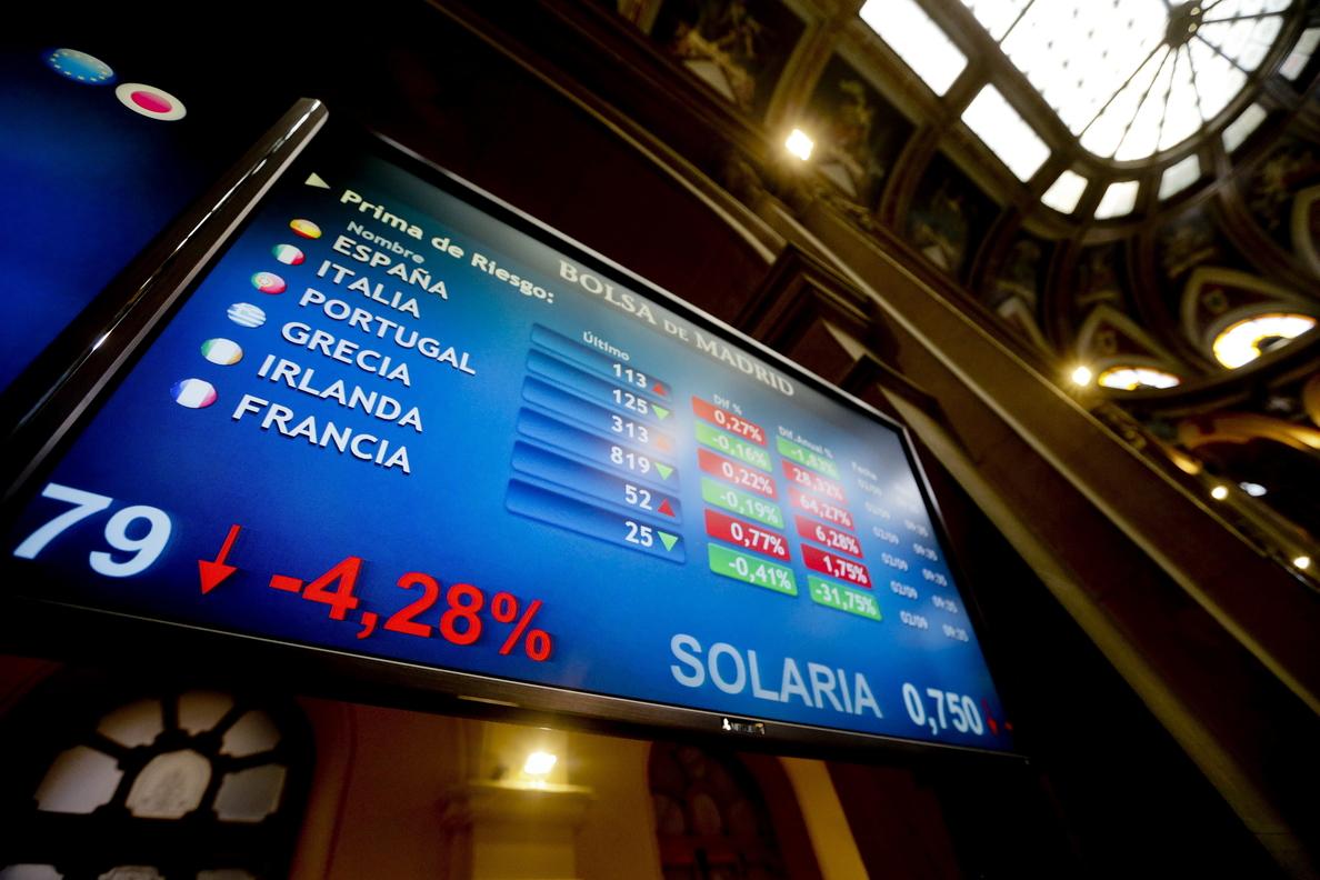 La prima de riesgo sube a 105 puntos y el bono sigue por debajo del 1 %