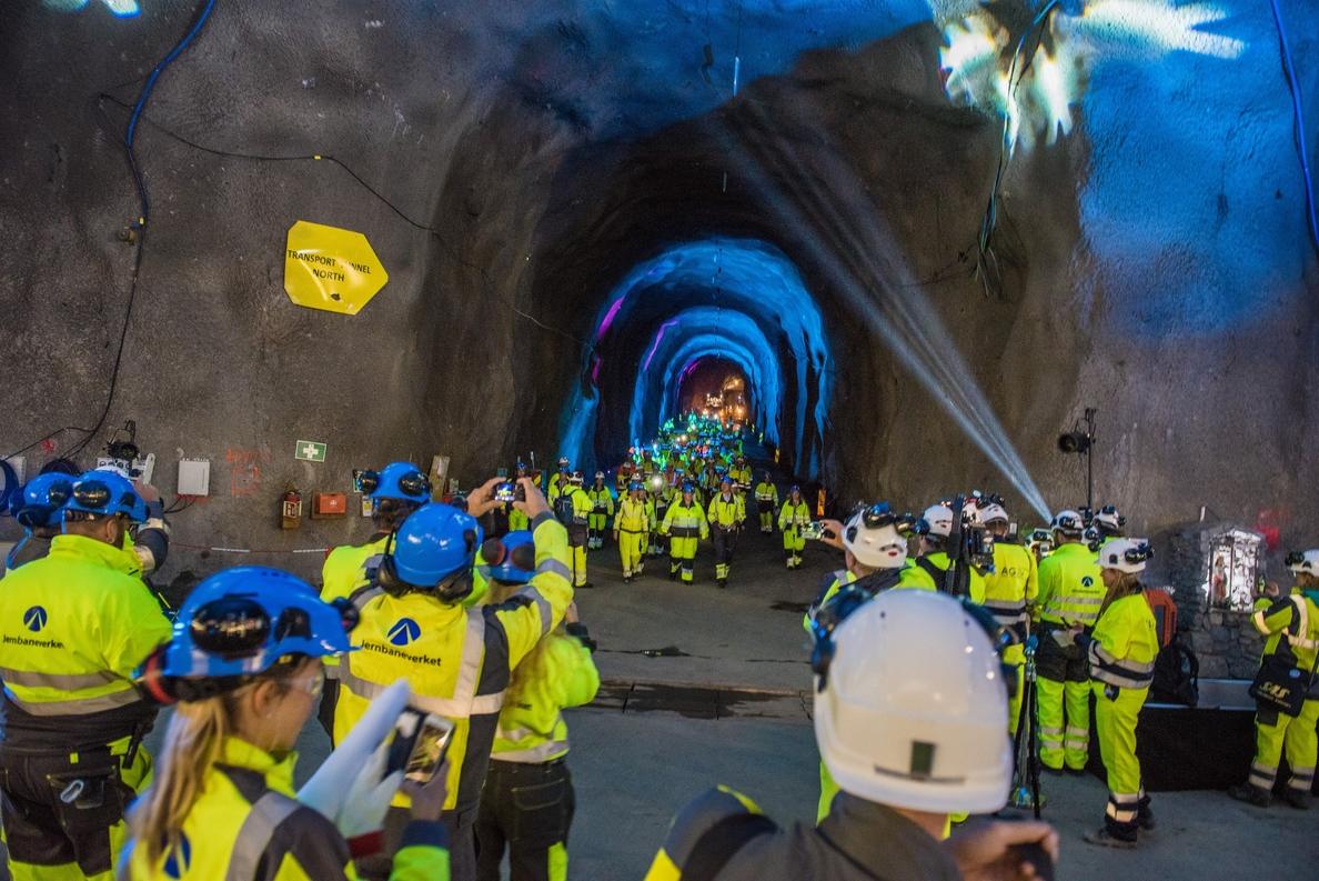 Las tuneladoras con las que Acciona construirá el mayor túnel de Noruega ya está en marcha