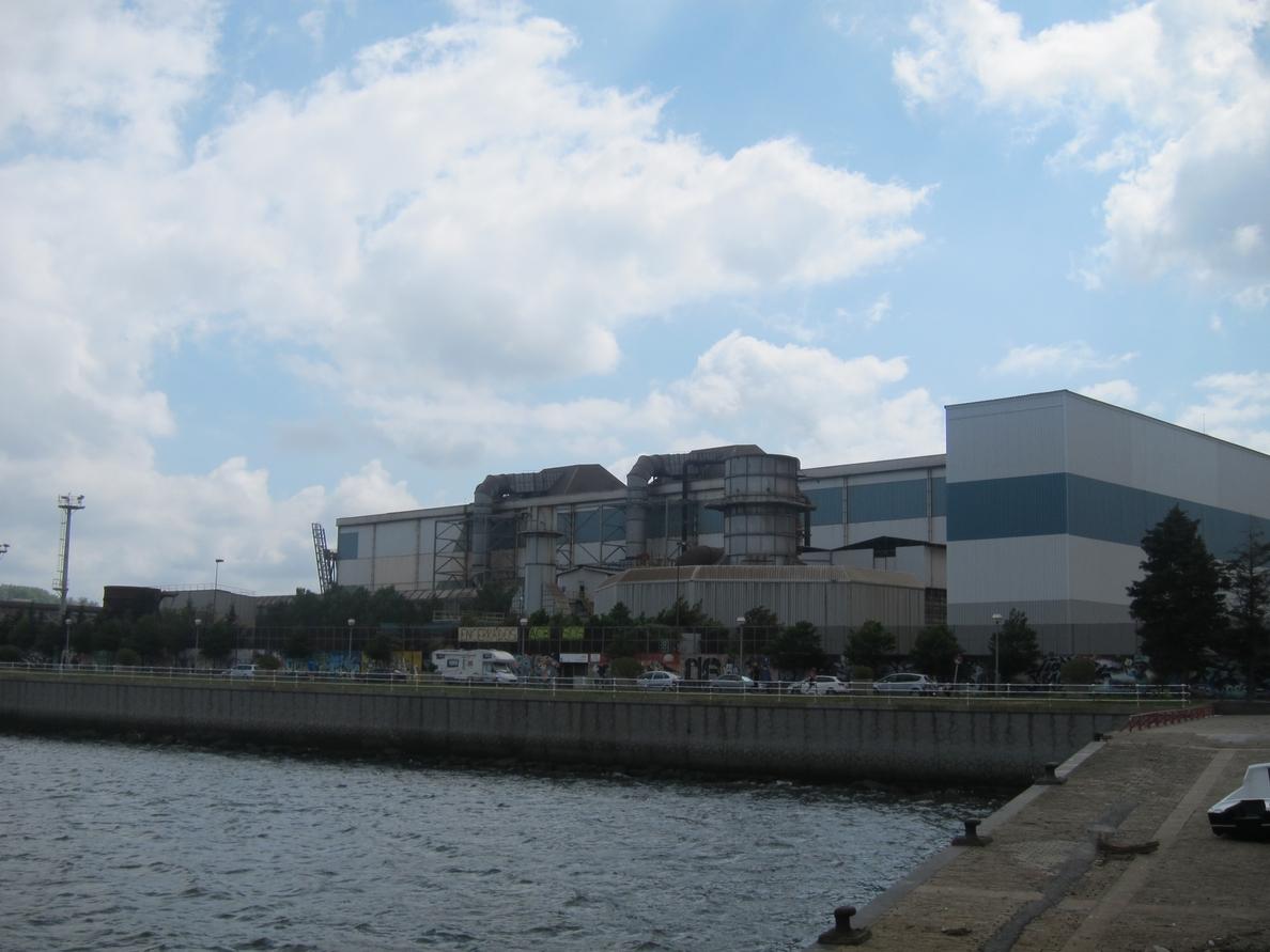 Arcelor reabre la Acería de Sestao este viernes tras permanecer parada desde febrero