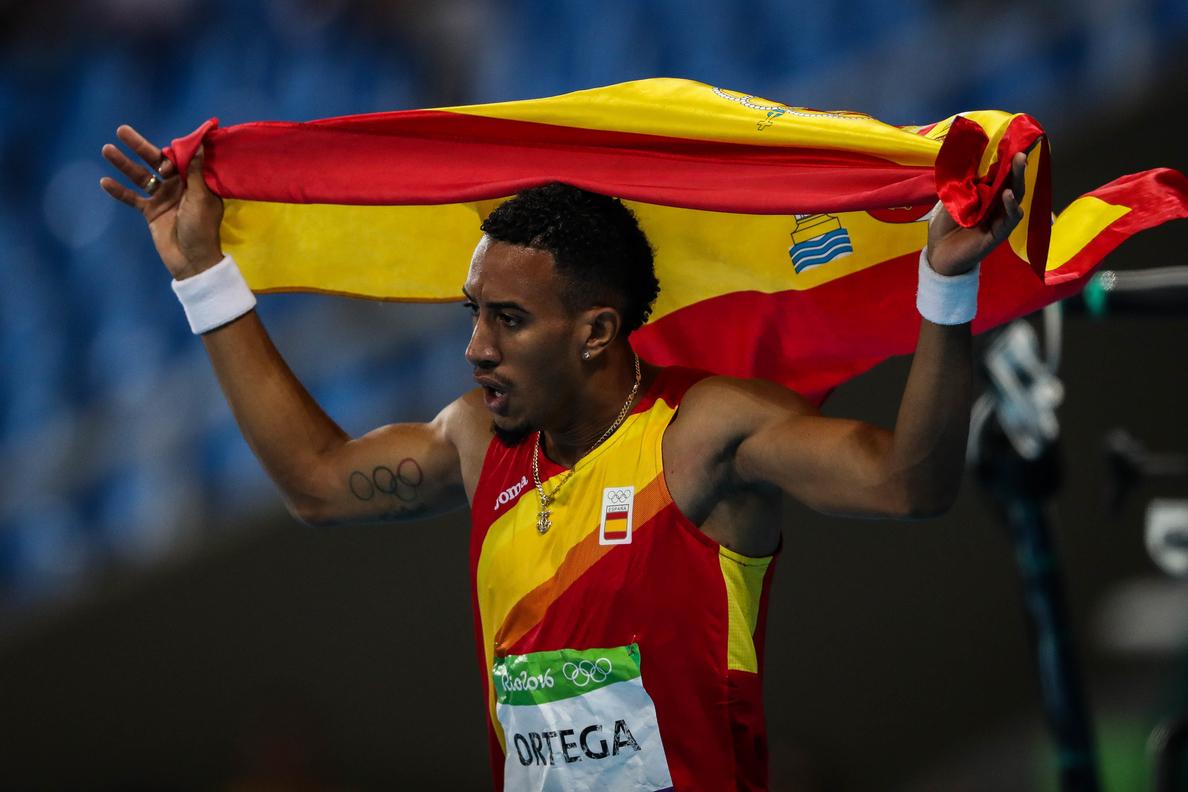 Ortega se asegura el «diamante» en los 110 m. vallas por la ausencia de McLeold