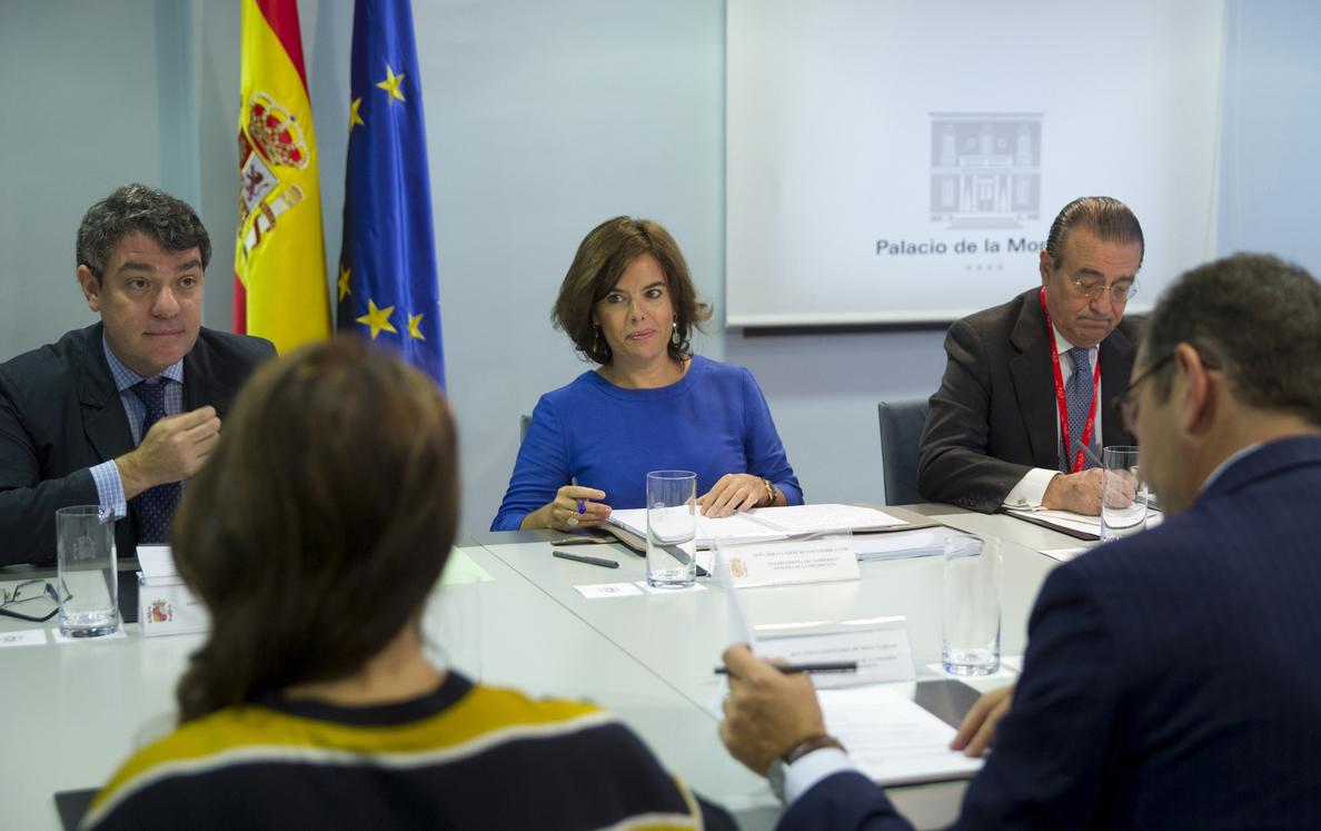 S. Santamaría preside la reunión de la comisión interministerial sobre el «brexit»