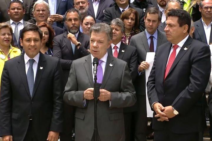 El Gobierno no ha decidido aún a quién enviará a la firma del acuerdo de paz en Colombia
