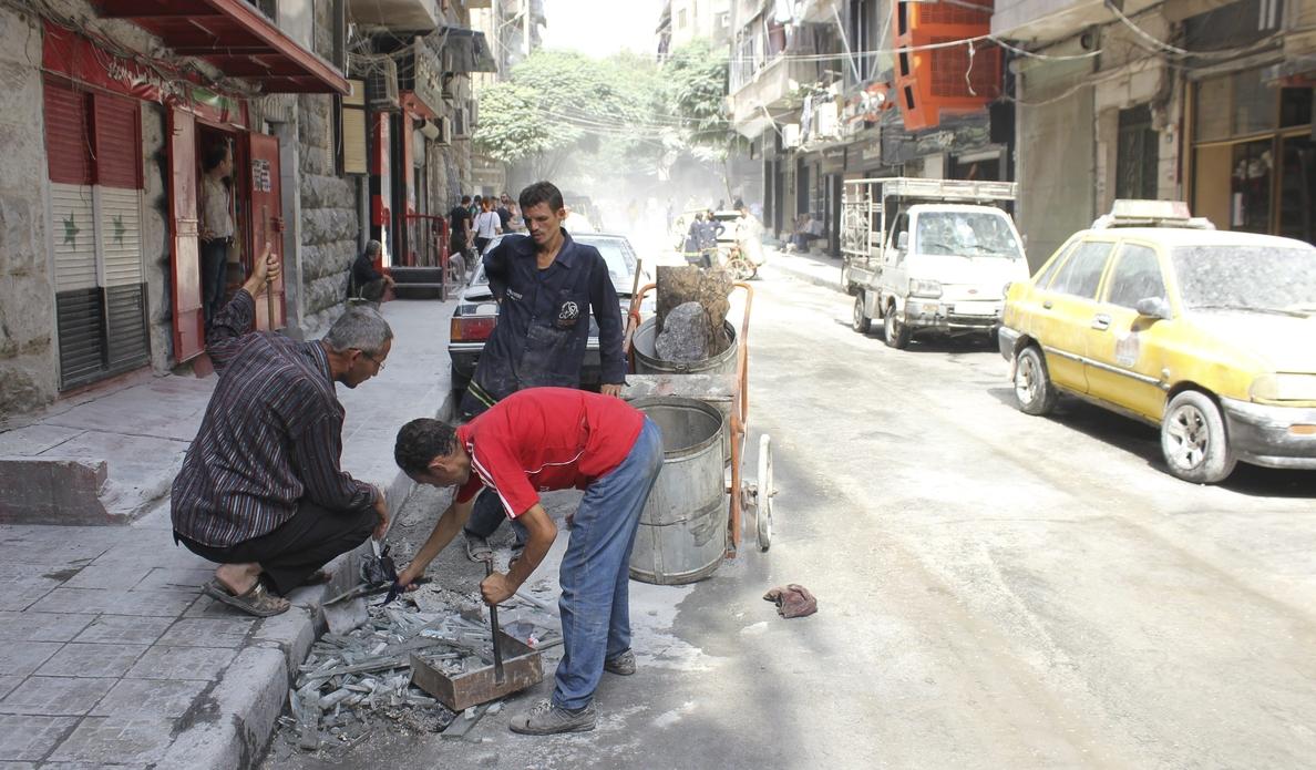 La mayoría de ambulancias, paradas en el este de Alepo por falta de combustible