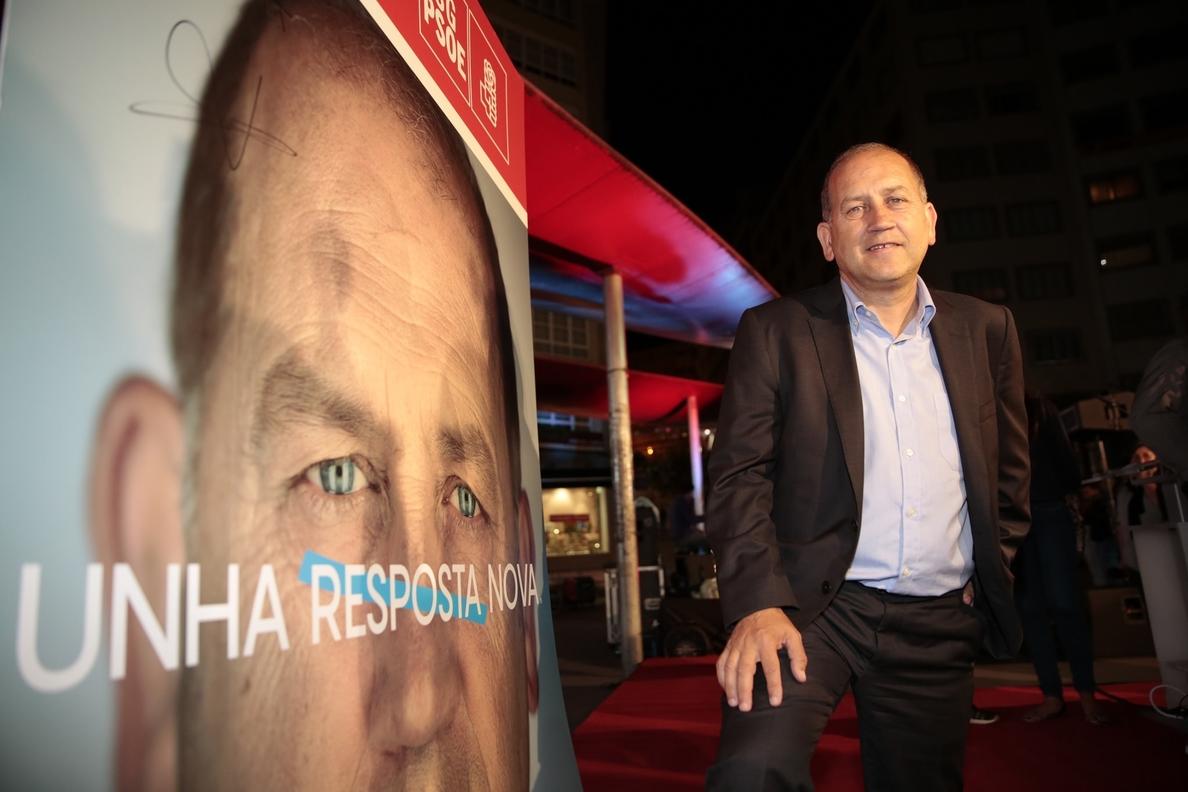 Leiceaga reivindica que el PSdeG «tiene que ser el motor del cambio», que ve «perfectamente posible»