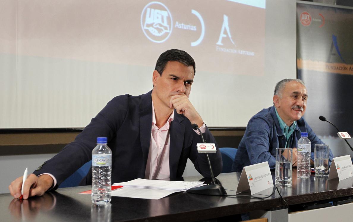 Sánchez acusa a C»s y a Podemos de imponer vetos que impiden la regeneración