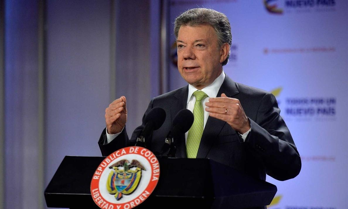 Santos dice que «la justicia cojea, pero llega», tras ser anulada la reelección del procurador general