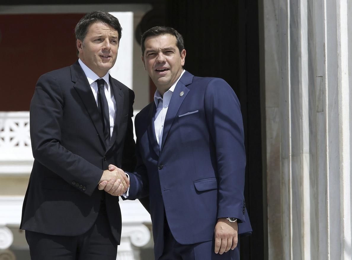 Tsipras destaca vínculos «más allá de las crisis» entre países mediterráneos
