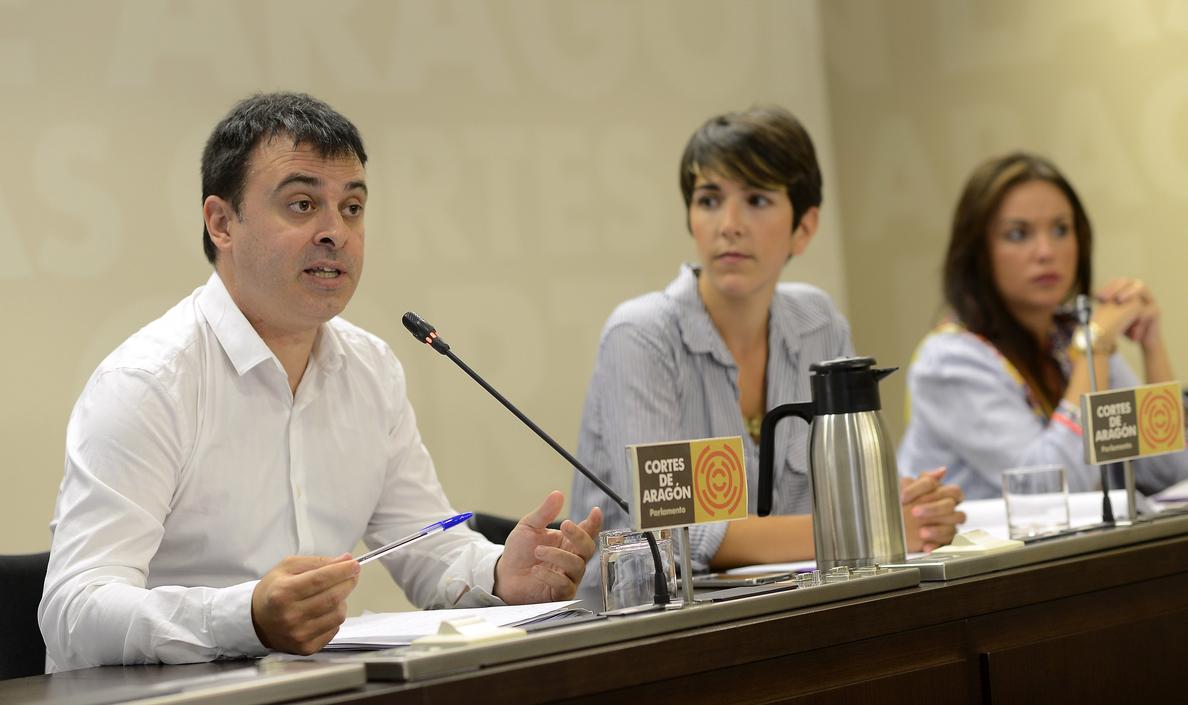 Violeta Barba (Podemos) será la nueva presidenta de las Cortes de Aragón