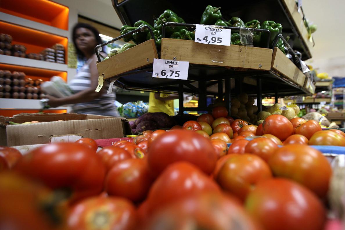 La inflación en Brasil llega al 5,42 % entre enero y agosto