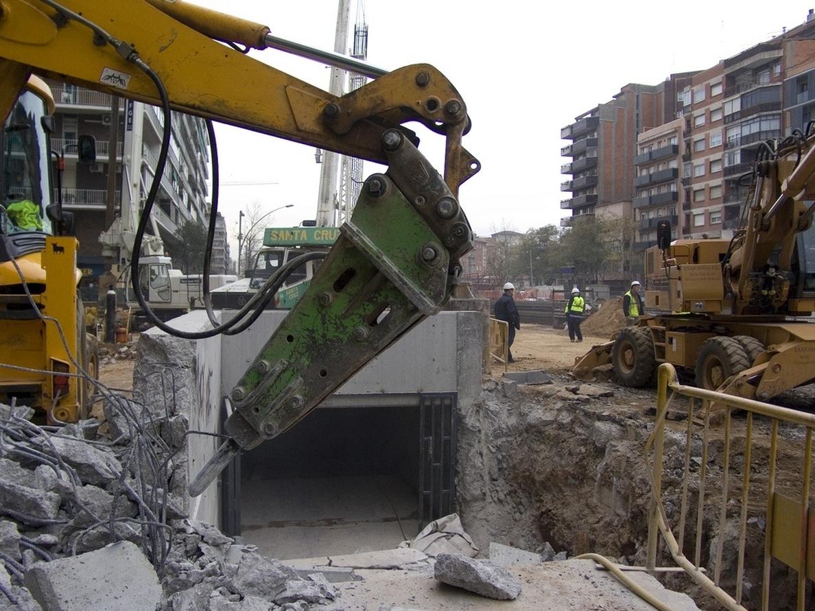 La licitación de obra pública cae un 14,5% hasta julio por la caída de los proyectos de AVE