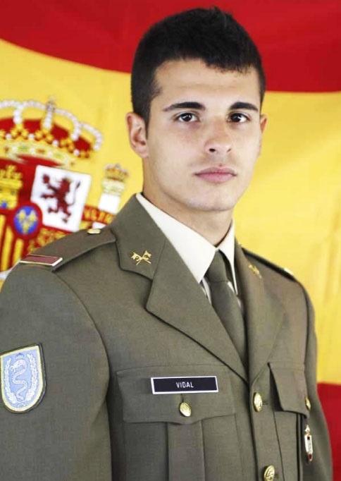 Los restos mortales del soldado Aarón Vidal llegarán mañana a Valencia