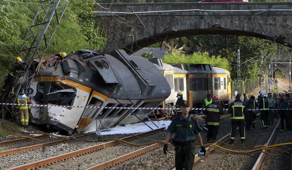 Un nuevo accidente ferroviario vuelve a descarrilar el ánimo