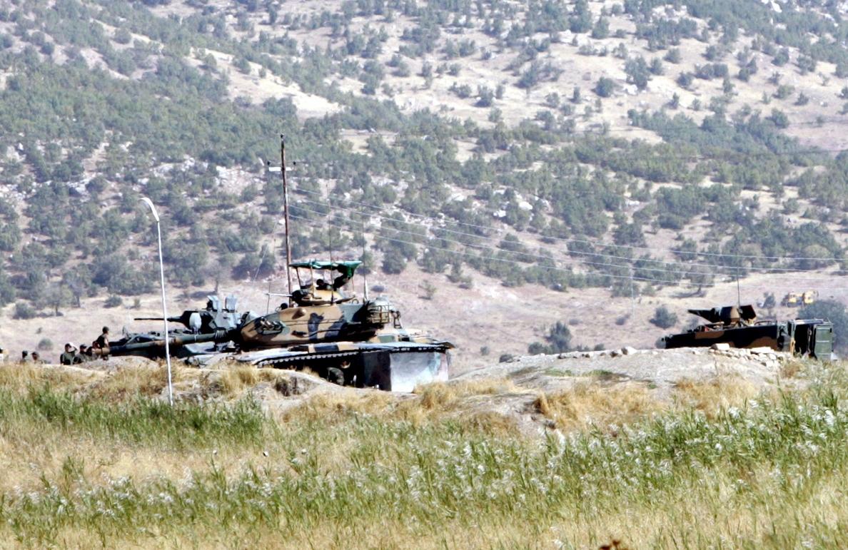 Aviones turcos bombardean posiciones del PKK en el sureste del país