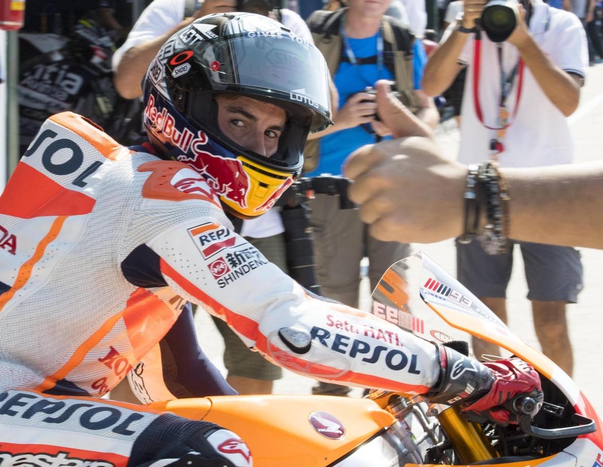 Lorenzo logra el mejor tiempo y pulveriza el récord de Misano Adriático