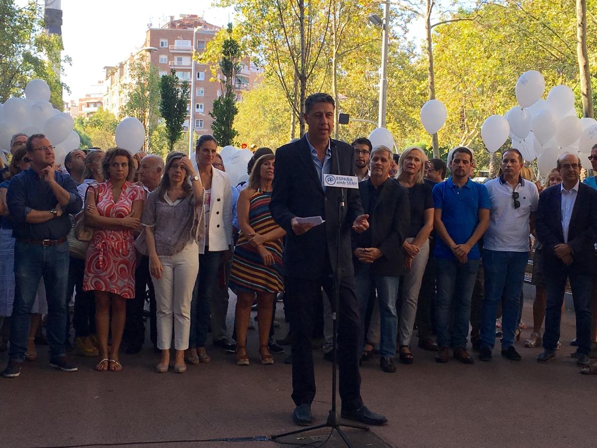 Albiol (PP) llama a los partidos no independentistas a «defender la democracia»