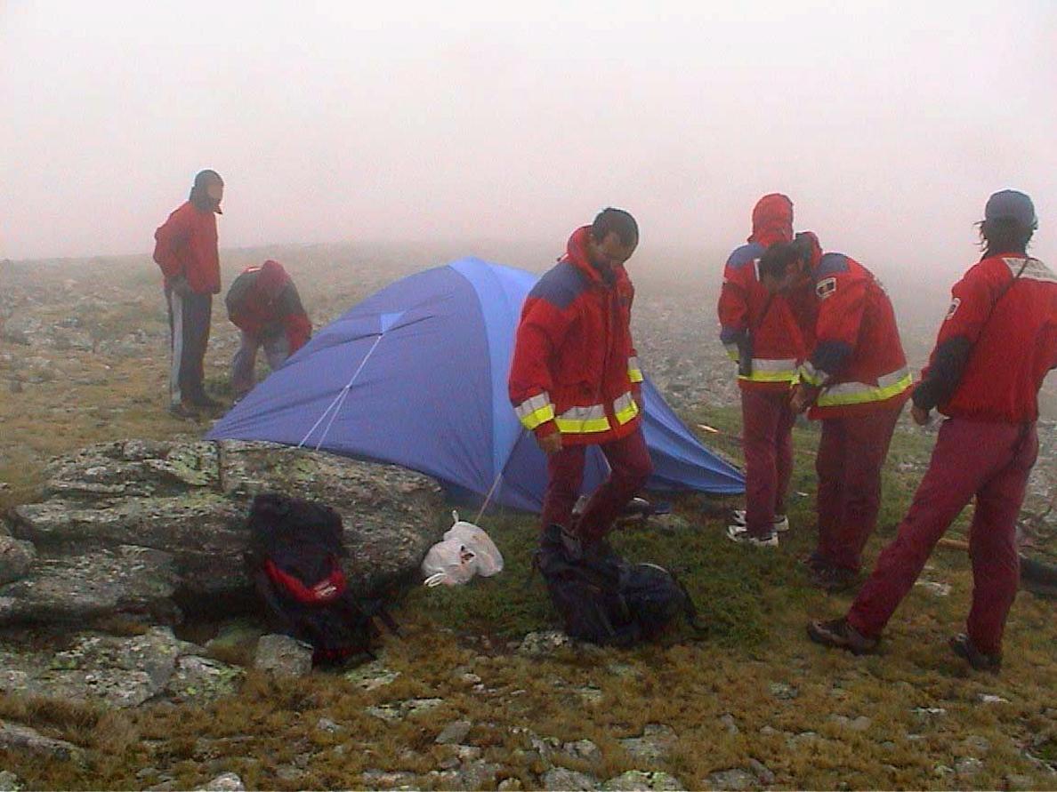Hallan en buen estado a un anciano desaparecido 11 horas en Navacerrada