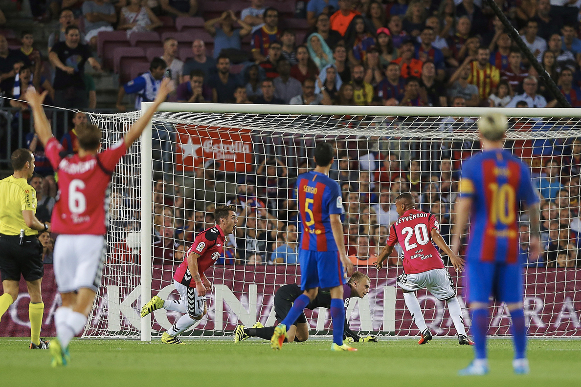 Vilarrubí califica de «accidente» la derrota contra el Alavés