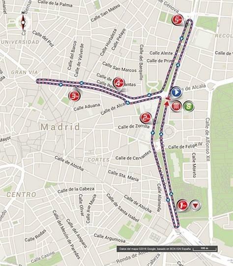 La Vuelta Ciclista a España termina este domingo en Cibeles