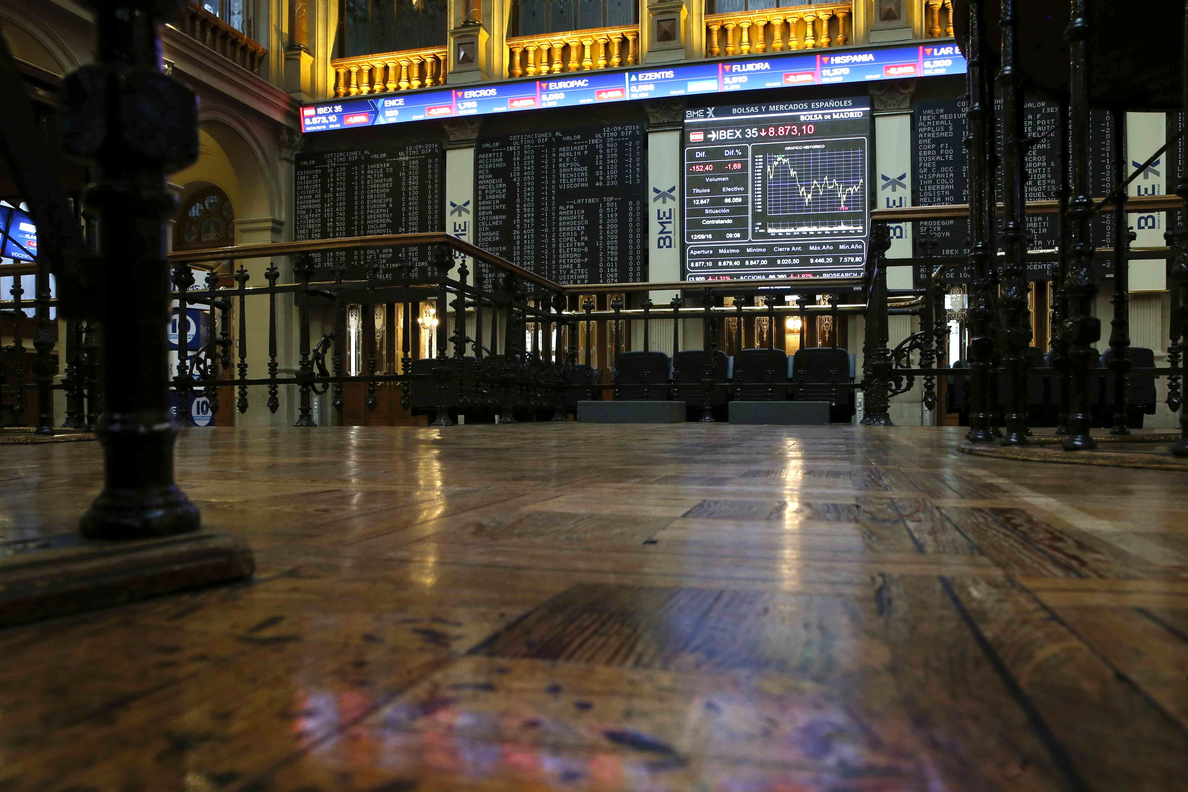 La Bolsa española pierde los 8.900 puntos tras dejarse el 2,09 %