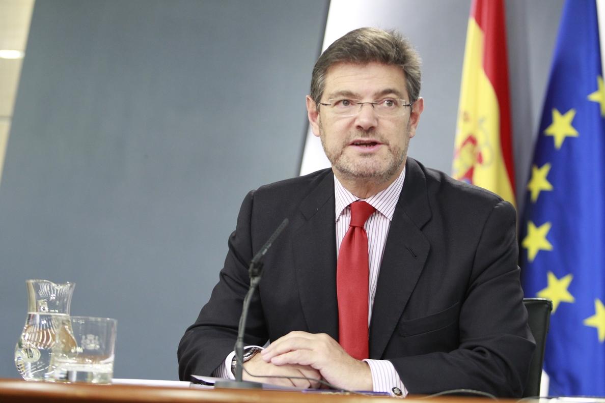 Catalá confirma que Otegi puede acceder a cargo público al no estar inhabilitado para ello