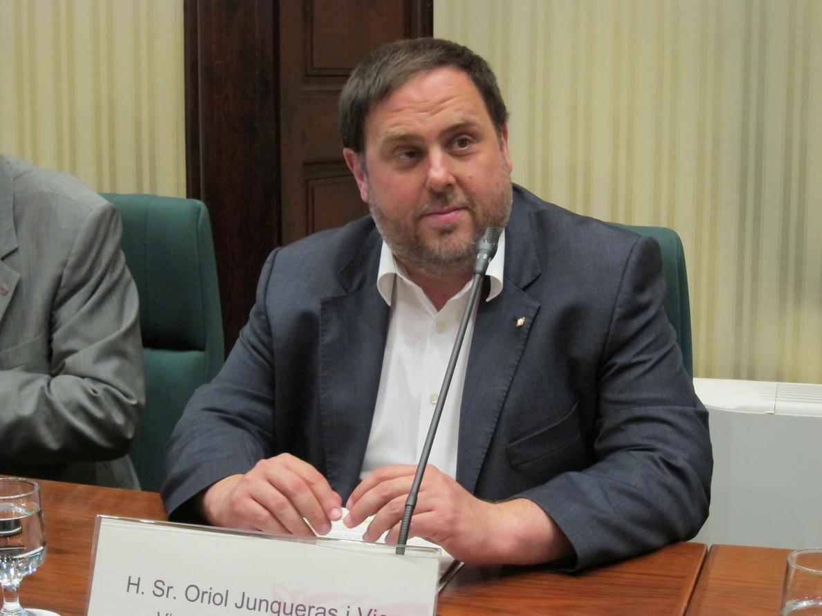 Junqueras aboga por un referéndum o elecciones constituyentes antes del verano de 2017