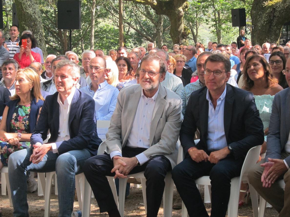 Rajoy se vuelca en las gallegas y vascas con actos en Orense, Pontevedra y Bilbao esta semana