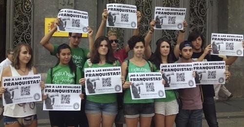 El Sindicato de Estudiantes propone que la huelga contra las »reválidas» sea el 26 de octubre