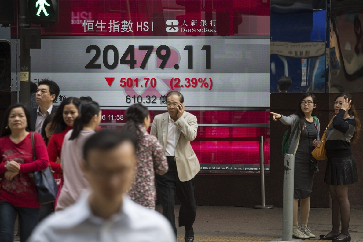 La bolsa de Hong Kong repunta el 0,81 por ciento en la apertura