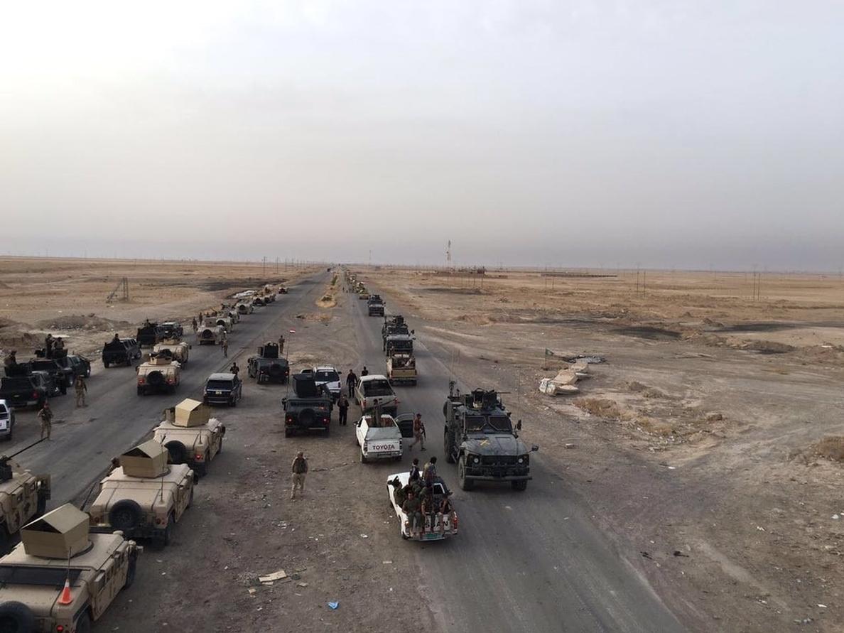 Irak asegura haber repelido una ofensiva de Estado Islámico en los alrededores de Mosul