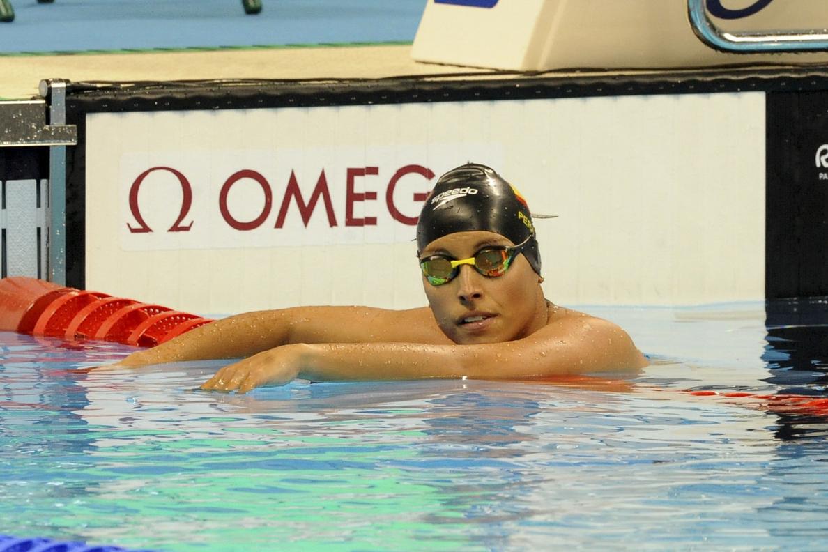 Teresa Perales vuelve a quedarse sin medalla en los 50 metros libres