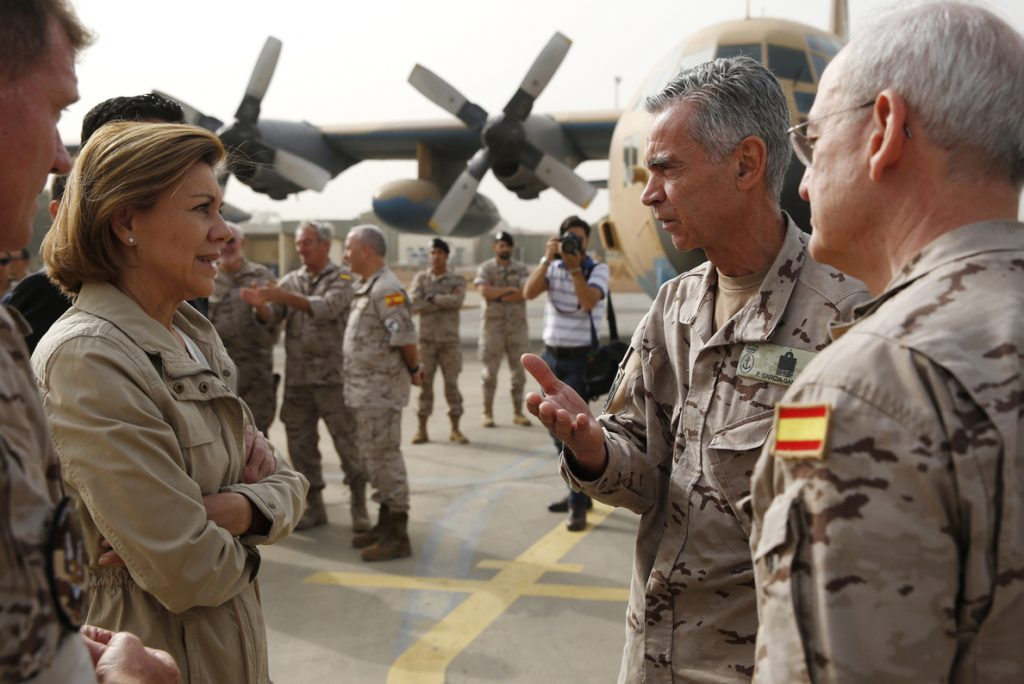 España incrementa su presencia en Irak